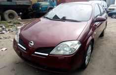 Tokunbo Nissan Primera 2005 Model Red
