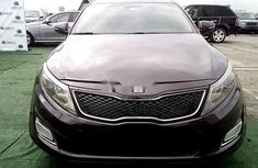 Nigeria Used Kia Optima 2014 Model Black