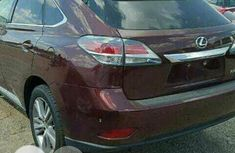 Foreign Used Toyota ES 2011 Red