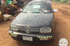 Nigeria Used Volkswagen Golf 1999 Black