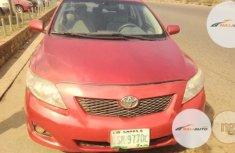 Nigeria Used Toyota Corolla 2010 Red