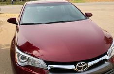 Tokunbo Toyota Camry 2017 Model Red