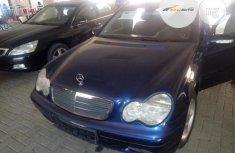 Tokunbor Mercedes Benz  C180 2002 Model