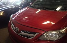 Tokunbo Toyota Corolla 2011 Model Red
