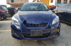 Foreign Used Toyota Matrix 2010 Model Blue