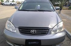 Nigeria Used Toyota Corolla 2004 Model Grey