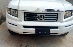 Tokunbo Honda Ridgeline 2007 Model White