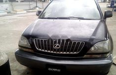 Nigeria Used Lexus RX 1999 Model Black