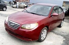 Nigeria Used Hyundai Elantra 2007 Model Red