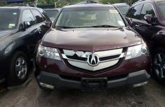 Forreign Used Acura MDX 2008 Model Red