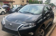 Foreign Used Lexus RX 6 2014 Model Black