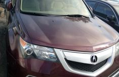 Tokunbo Acura MDX 2011 Model Red