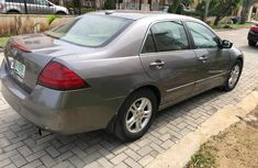 Nigeria Used Honda Accord 2007 Model Grey