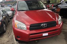 Toyota RAV4 2008 Model Foreign Used Red