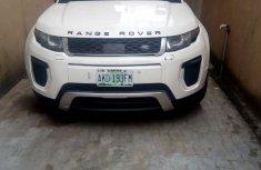 Used Range Rover for sale in Nigeria 2015 Model White