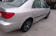 Extra clean Nigerian used Toyota Corolla 2005 model