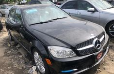 2008 Mercedes Benz C300 Black Tokunbo Jeep