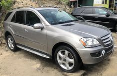 Mercedes Benz ML350 2008 Foreign Used Black SUV