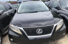 Used Lexus RX 350 2010 Model Foreign Black