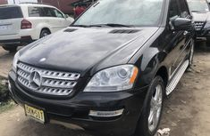 Mercedes Benz ML350 Foreign Used 2010 Model Black