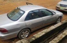 Nigerian Used Honda Accord Silver 2000 Sedan