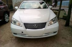 Used Lexus ES 350 White Tokunbo 2008 Model