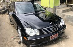 Foreign Used Mercedes Benz C240 2005 Model Black