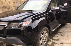 Acura MDX 2008 Model Foreign Used Black Jeep