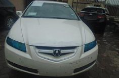 Foreign Used  Acura TL 2007 Model White