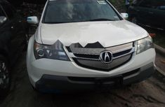 Foreign Used Acura MDX2008 Model White