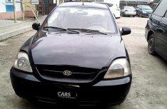 Nigeria Used Kia Rio 2005 Model Black