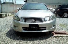 Nigeria Used Honda Accord 2008 Model Silver