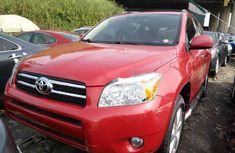 Foreign Used Toyota RAV4 2010 Model Red