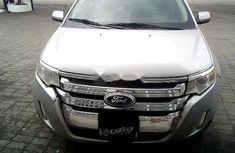 Nigeria Used Ford Edge 2014 Model Silver