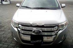 Nigeria Used Ford Edge 2014 Model Silver