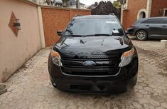 Foreign Used Ford Explorer 2013 Model Bllack