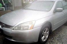 Nigeria Used Honda Accord 2005 Model Silver