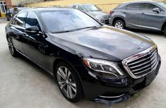 Foreign Used Mercedes-Benz S550 2017 Model Black