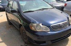 Clean Nigerian used 2004 Toyota Corolla