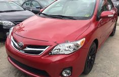 Tokunbo Toyota Corolla 2010 Model Red
