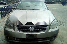 Nigeria Used Nissan Altima 2005 Model Silver