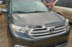 Tokunbo Toyota Highlander 2013 Model Grey