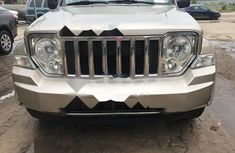 Tokunbo Jeep Cherokee 2010 Model Gold