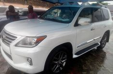 Tokunbo Lexus LX 2014 Model White