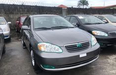 Foreign Used Toyota Corolla 2006 model Brown