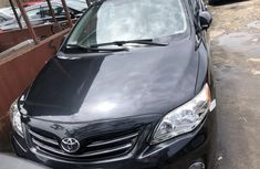 Foreign Used Toyota Corolla 2012 Model Black Sedan