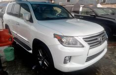 Foreign Used Lexus LX 2014 Model White