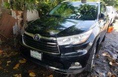 Nigeria Used Toyota Highlander 2014 Model Black