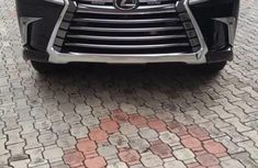 Tokunbo Lexus LX 2016 Model Black