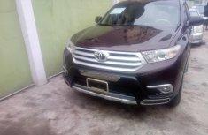 Nigeria Used Toyota Highlander 2013 Model